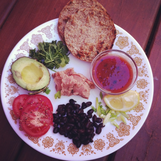 english muffin lunch